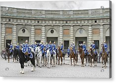 Acrylic Print featuring the photograph Changing Of The Guard II by Roy  McPeak