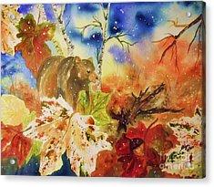Changing Of The Seasons Acrylic Print