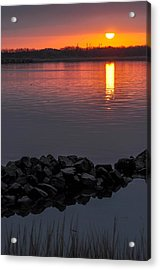Changing Tide Acrylic Print by Donnie Smith