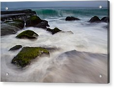 Changing Tides Acrylic Print by Andrew Raby