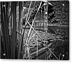 Acrylic Print featuring the photograph Channel by Adria Trail