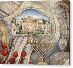 Chanukah Acrylic Print