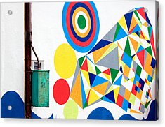 Chaordicolors Acrylic Print