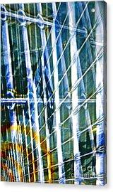 Chaos Acrylic Print by Gwyn Newcombe