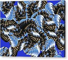 Chaos Acrylic Print by Soumya Bouchachi