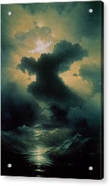 Chaos The Creation Acrylic Print by Ivan Konstantinovich Aivazovsky