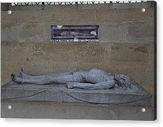 Chapel At Les Invalides - Paris France - 01132 Acrylic Print