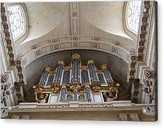 Chapel At Les Invalides - Paris France - 01133 Acrylic Print