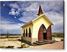 Chapel By The Sea Acrylic Print
