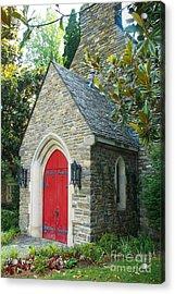 Chapel In Gatlinburg Acrylic Print