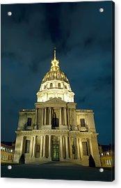 Chapel In Paris Acrylic Print by Ioan Panaite