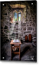 Chapel Light Acrylic Print by Adrian Evans