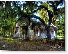 Chapel Of Ease Acrylic Print by Mel Steinhauer