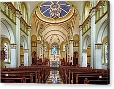 Acrylic Print featuring the photograph Chapel Of The Immaculate Conception by Jim Thompson