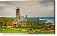 Chapel Of The Ozarks Acrylic Print