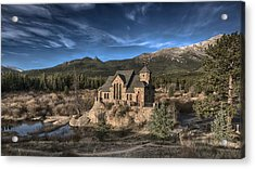 Chapel On The Rock Acrylic Print
