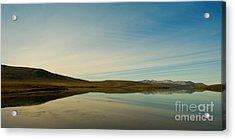 Chapman Lake Dempster Highway Acrylic Print by Priska Wettstein