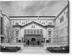 Chapman University Kennedy Hall Law School Acrylic Print by University Icons