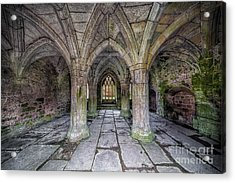 Chapter House Interior Acrylic Print by Adrian Evans
