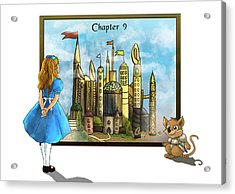 Acrylic Print featuring the painting Chapter Nine by Reynold Jay