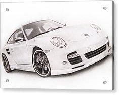 Char-car Acrylic Print by Atinderpal Singh