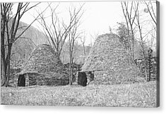 Charcoal Furnaces Acrylic Print