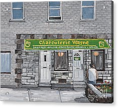 Charcuterie Wayne Pointe St. Charles Acrylic Print