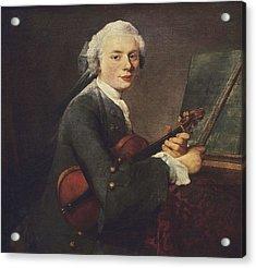 Chardin, Jean Baptiste Sim�on Acrylic Print by Everett