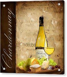 Chardonnay IIi Acrylic Print by Lourry Legarde