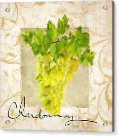 Chardonnay Acrylic Print by Lourry Legarde