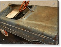Charger Pedal Car Acrylic Print by Michelle Calkins