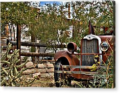 Acrylic Print featuring the photograph Chariot Awaits by Lee Craig