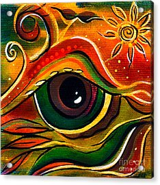 Charismatic Spirit Eye Acrylic Print by Deborha Kerr