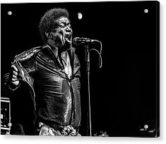 Charles  Bradley  In Memory Acrylic Print by Jois Domont (
