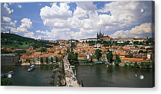 Charles Bridge Prague Czech Republic Acrylic Print