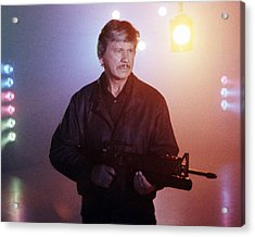 Charles Bronson In Death Wish 4: The Crackdown  Acrylic Print by Silver Screen
