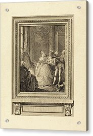 Charles Emmanuel Patas After Charles Eisen French Acrylic Print by Quint Lox