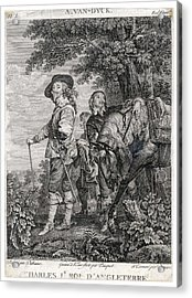 Charles I Of England          Date 1600 Acrylic Print by Mary Evans Picture Library