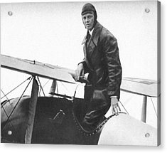 Charles Lindbergh Acrylic Print by Unknown
