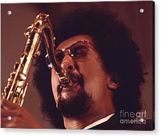 Charles Lloyd In The Soviet Union Acrylic Print