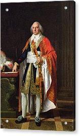 Charles Louis Francois Letourneur 1751-1817 1796 Oil On Canvas Acrylic Print