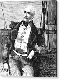 Charles Napier Acrylic Print by Collection Abecasis