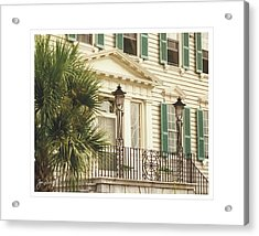 Charleston Architecture 3 Acrylic Print