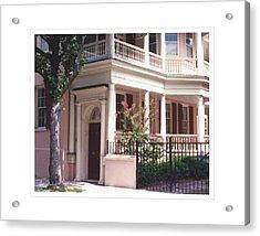 Charleston Architecture 4 Acrylic Print