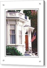 Charleston Architecture 6 Acrylic Print