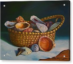 Charleston Basket Acrylic Print
