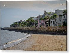 Acrylic Print featuring the photograph Charleston Battery by Serge Skiba