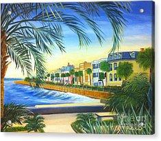 Charleston Battery Acrylic Print by Shelia Kempf