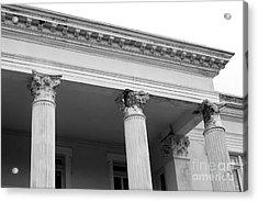 Charleston Columns Acrylic Print by Manda Renee