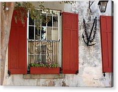 Charleston French Quarter II Acrylic Print